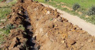 تواصل أشغال مشروع إعادة تهيئة شبكات المياه بمختلف مشاتي عين السبت