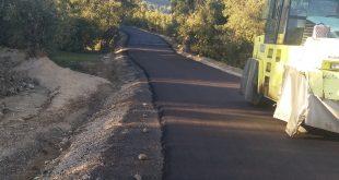 الشروع في تجسيد مشروع تزفيت الطريق البلدي رقم 280 الرابط بين عين السبت مركز و النويدرة على مسافة 1 كلم