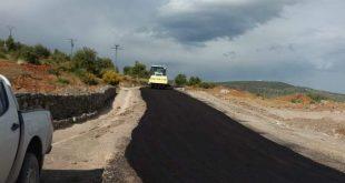 انتهاء أشغال تهيئة الطريق البلدي 280 في شطره الرابط بين عين السبت مركز و النويدرة