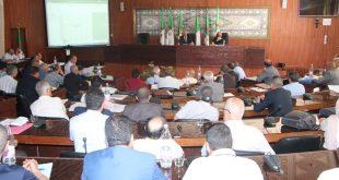 والي سطيف يترأس اجتماع لتقييم مدى تنفيذ مشاريع مخططات البلدية للتنمية