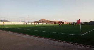 انطلاق الدورة الرياضية في كرة القدم بالملعب البلدي عين السبت