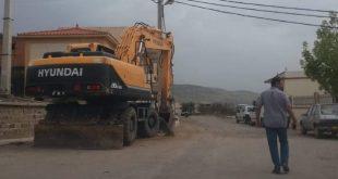 بلدية عين السبت : انطلاق أشغال مشاريع مخططات البلدية للتنمية « PCD2019 »