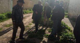 خرجة ميدانية لمعاينة تموين أحياء عين السبت مركز بالمياه الشروب عبر الشبكة الجديدة
