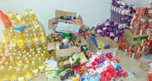 بلدية عين السبت تستفيد من 800 طرد غدائي كمساعدات للاسر المحتاجة لمواجهة آثار اجراءات الوقاية من فيروس كورونا