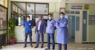 توفير وسائل وقائية من فيروس كورونا للعيادة متعددة الخدمات عين السبت