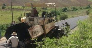 خرجة ميدانية للوقوف على أشغال مشروع تعبيد طريق فرغوس – لحكامة – عين السبت مركز