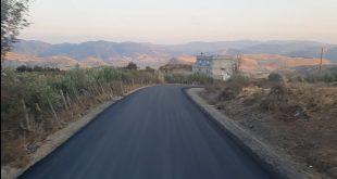 تعبيد طريق النويدرة – أمزيلن – إلى غاية أعلى نقطة أولاد مسعود حوالي 1400 م عن سطح البحر- بلدية عين السبت