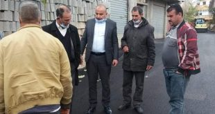 بلدية عين السبت |  تهيئة حضرية ضمن مشروع اتمام تهيئة الشارع الرئيسي PCD2020