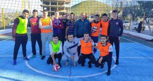 فعاليات احياء اليوم الوطني للبلدية تختتم بافتتاح ملعب جواري صغير امام مقر البلدية