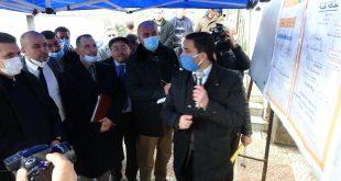 والي ولاية سطيف السيد كمال عبلة يشرف على انطلاق مشروع ربط 510 عائلة بشبكة الغاز الطبيعي بمنطقة عين جوهرة